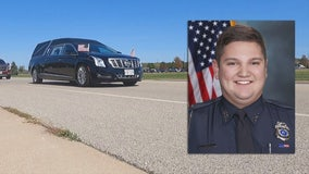 Fond du Lac officer funeral; died from complications of COVID-19