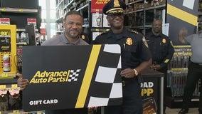 Motorist safety program: Milwaukee police, Advance Auto Parts team up