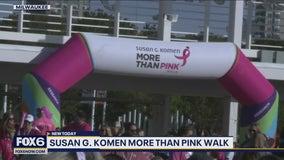 Susan G. Komen More Thank Pink Walk inspires thousands
