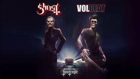 Ghost & Volbeat at Fiserv Forum on Feb. 20