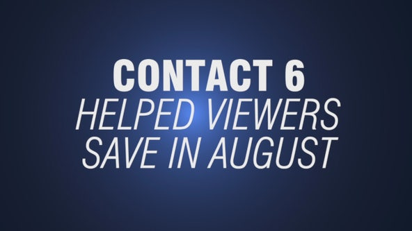 Contact 6 gets refunds for remodeling projects in August