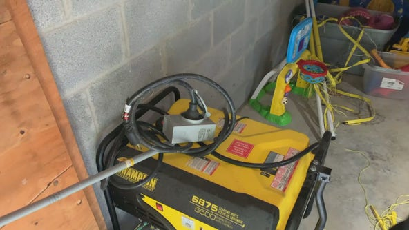 Power your home with a portable generator