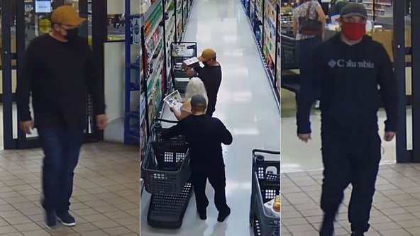 Thieves distract shoppers, steal wallets from purses: police