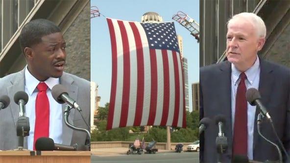 Barrett, Crowley recall 9/11 at War Memorial ceremony