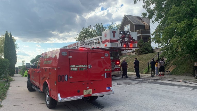 Fire in home near Howell and Dover
