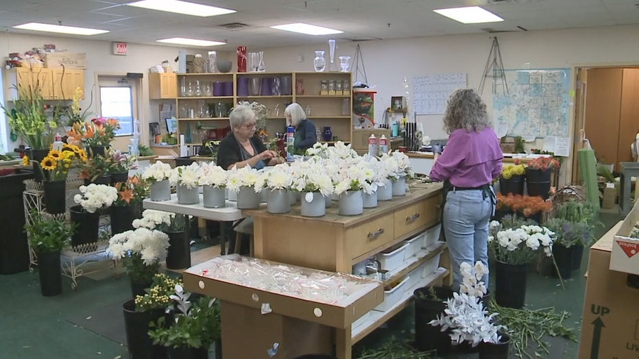 Waukesha Floral creates arrangements for the Ryder Cup