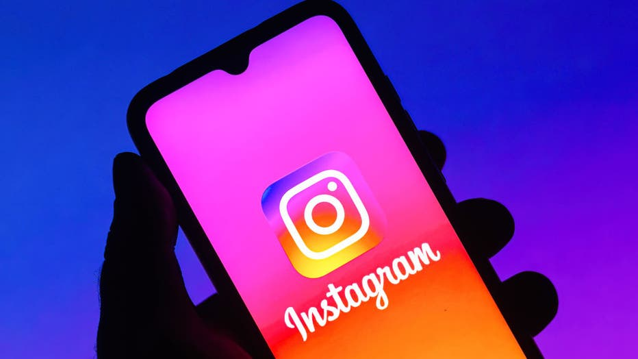 5b0daa92-In this photo illustration the Instagram logo seen displayed