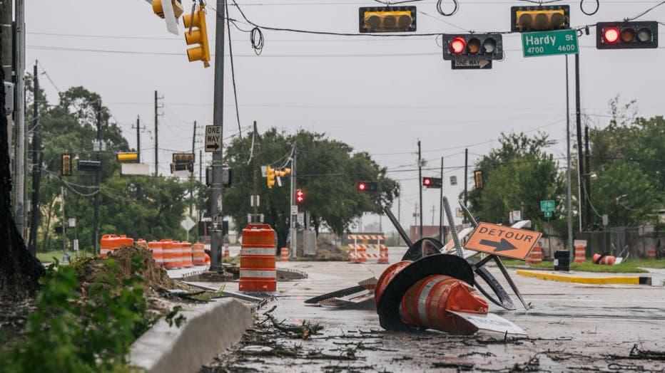 6bee835c-Tropical Storm Nicholas Brings Heavy Rains To Texas