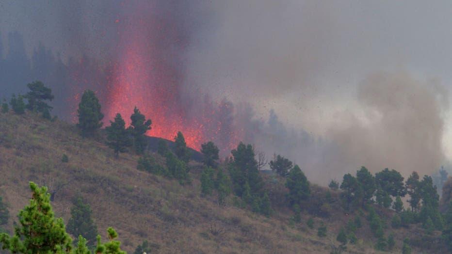 Volcanic Eruption Begins On La Palma .