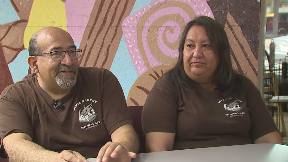 Jorge and Cynthia Lopez