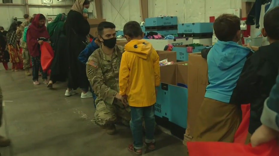 Media provided glimpse at life for Afghans at Fort McCoy
