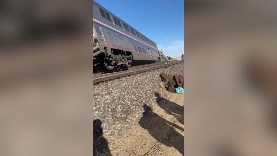 train derailed edit