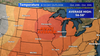 October above average warmth as month nears an end