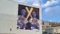 Milwaukee mural honors Hank Aaron, Tommie Aaron