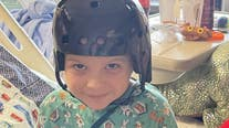 Boy struck by projectile at recess goes home from the hospital this week