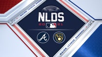 Brewers' season ends in Atlanta, Braves on to NLCS