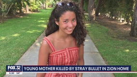 Zion mother who was reading Bible to daughter inside her home killed by stray bullet