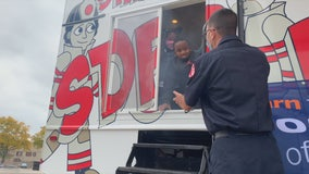 Milwaukee firefighters share safety message with kids