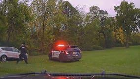 Glendale pursuit ended in Milwaukee River, 6 arrests