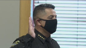 Morales sworn in as Fitchburg police chief