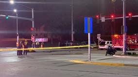 Motorcyclist dies in Waukesha crash; 4 vehicles involved