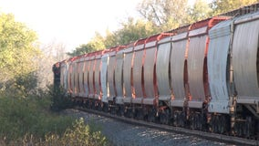 Fatal train accident in Richfield; man was walking on tracks