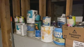 Store leftover paint for future projects