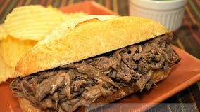 French Dips: A crockpot recipe