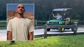 Brian Laundrie's father joins law enforcement searching for son at Carlton Reserve