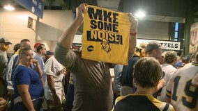 Brewers playoffs: Fans energized after series-opening win