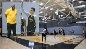 Panthers men's basketball practice draws fans; Baldwin buzz builds