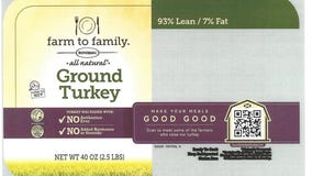 Butterball ground turkey recalled over possible plastic contamination