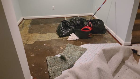 Do this immediately after water damage