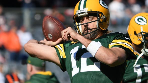 Packers' Aaron Rodgers has choice words for Bears fans after TD