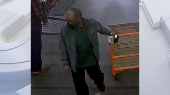 Suspect wanted in Costco theft