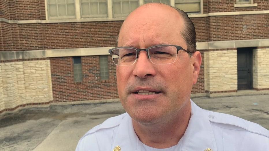 Milwaukee Fire Chief Aaron Lipski