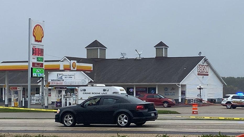 Officer-involved shooting at Kenosha County gas station