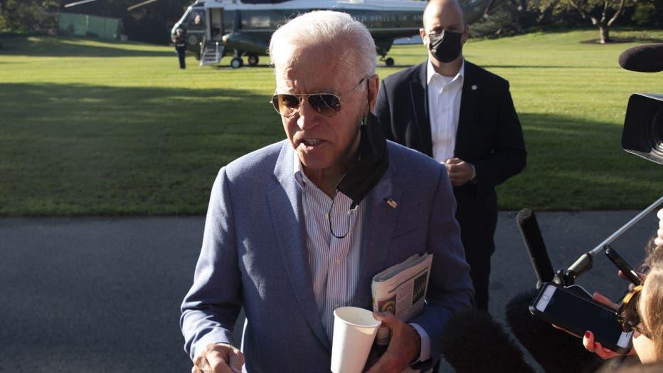 President Biden Departs White House For Delaware