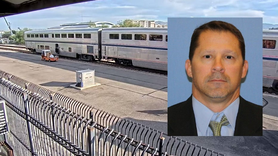 Gov. Doug Ducey says the name of the agent who was killed in Tucson at the Amtrak station is Michael Garbo, a group supervisor with the agency.