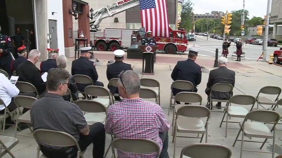 Milwaukee Firefighter Memorial ceremony