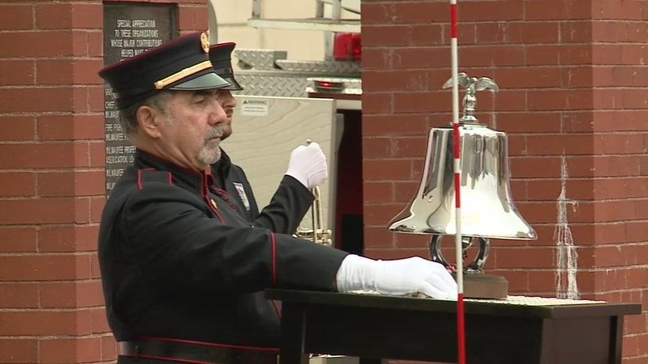 Milwaukee firefighter memorial