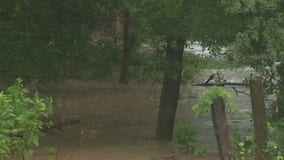 Major flooding in La Grange