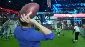 Super Bowl 51 wraps up