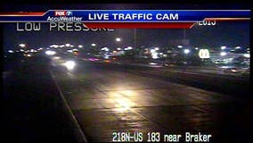 Icy conditions reported on roadways