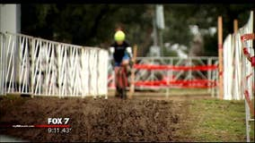 Weather puts the brakes on Cyclo-cross Nationals Championship
