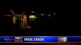 *Update* Fatal crash suspect charged with intoxication manslaughter
