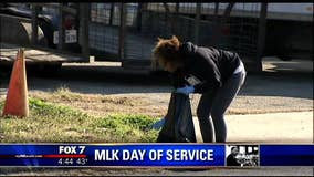 Celebrating the legacy of MLK through service