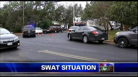 Daylong SWAT standoff in West Lake Hills ends peacefully
