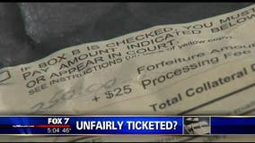 Army veteran says he was unfairly ticketed by VA police