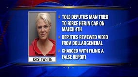 Hays County woman arrested for making false report